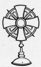monstrance coloring pages for kids - photo#20